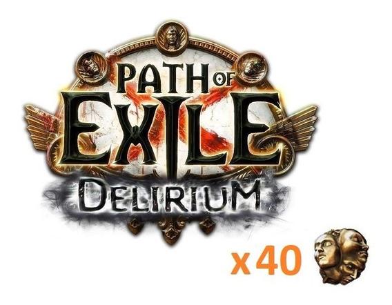 X40 Exalted Orb Delirium League Path Of Exile (pc)