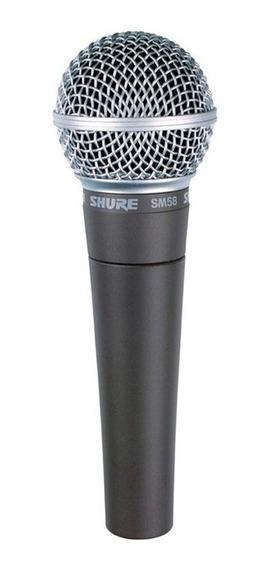 Microfone Shure Sm58 Lc Original Made In México Garantia