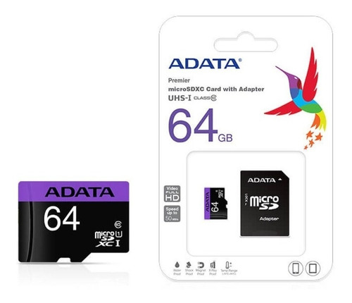 Memoria Micro Sd Adata 64gb