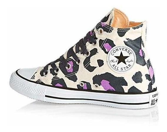 Converse Hi Animal Colors Print Leopard Beige Crema 555849c