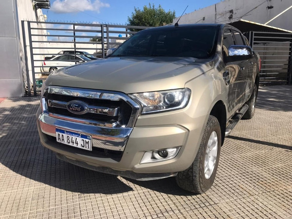 Ford Ranger 3.2 4x4 Xlt At Gris Tectonic 2017 74.400 Km Roas