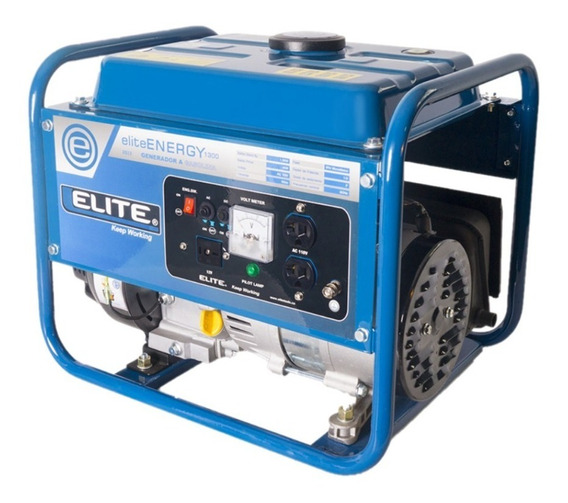 Planta Electrica A Gasolina Elite 1.3kw 110v 60hz 1ph
