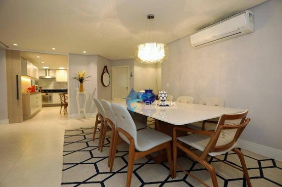 Apartamento Com 3 Dormitórios À Venda, 164 M² Por R$ 1.150.000 - Alphaville Industrial - Barueri/sp - Ap0010