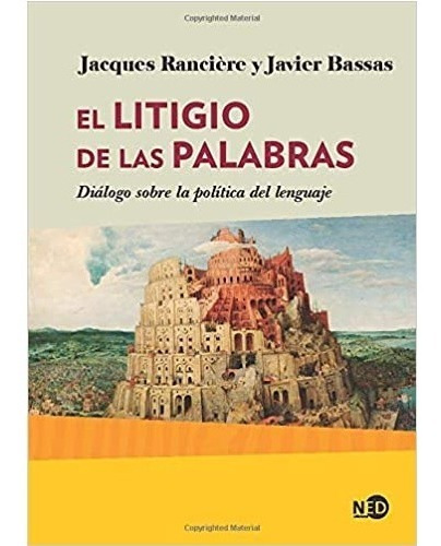Imagen 1 de 2 de Libro El Litigio De Las Palabras - Ranciere Jacques