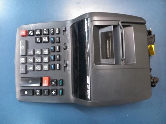 Calculadora Casio Dr-120tm 12 Digitos - Semi-nova! Garantia!