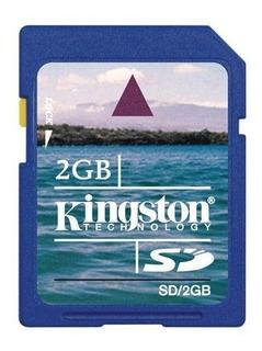 Cartão De Memória Sd Kingston 2 Gb.