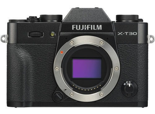 Câmera Fujifilm X-t30 Mirrorless Preta (corpo)