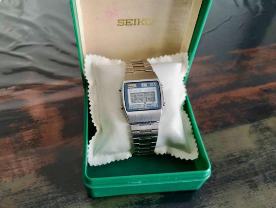 Relogio Seiko De 1980,cronometro Com Data, Digital,como Novo