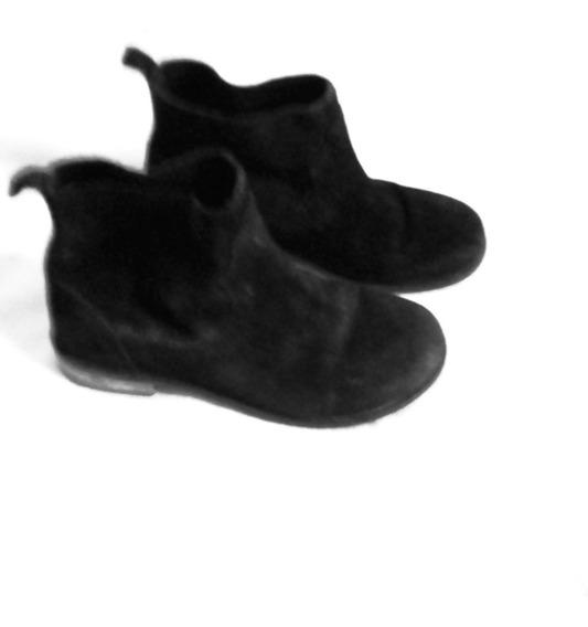 Aurojul-botas Cortas Gamuza Negra-zara Girls