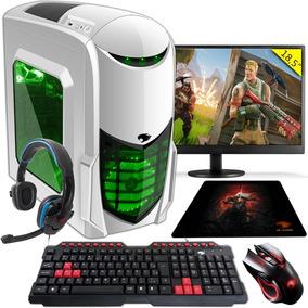 Pc Gamer G-fire A6 7400k 8gb R5 2gb Integrada 1tb Moni 18,5