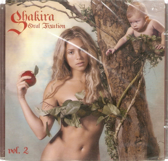 Cd Shakira - Oral Fixation - Vol. 2 - Novo Lacrado***