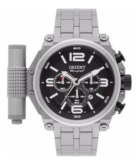 Relógio Orient Masculino Cronografo Mbttc013 P2gx Titanio Of