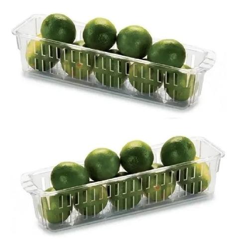 Imagem 1 de 2 de 2 Organizador Porta Temperos P/ Geladeira Freezer C/ Alça