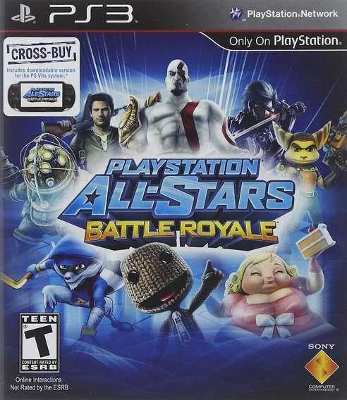 Playstation All-stars Battle Royale-psn Ps3 Digital Original