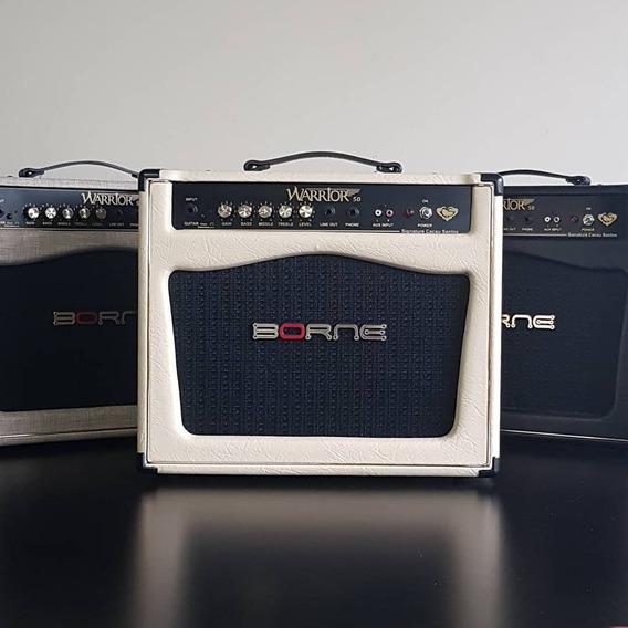 Amplificador Borne Warrior 50 Creme Cacau Santos