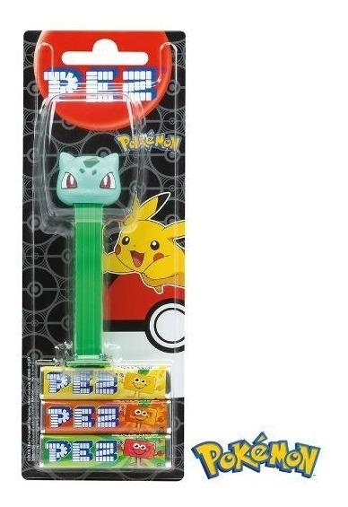 Bulbasaur Pokemon Dispenser Balas Pez Pastilha