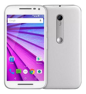 Celular Motorola Moto G3 16gb Branco C Tv, Usado, Excelente