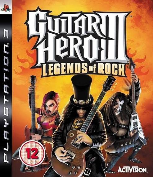 Guitar Hero 3 Ps3 - Leia Descrição