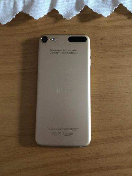 iPod Touch 5, Dourado, Com Acessórios