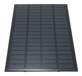 Painel Placa Célula Energia Solar Fotovoltaica 18v 2,5w
