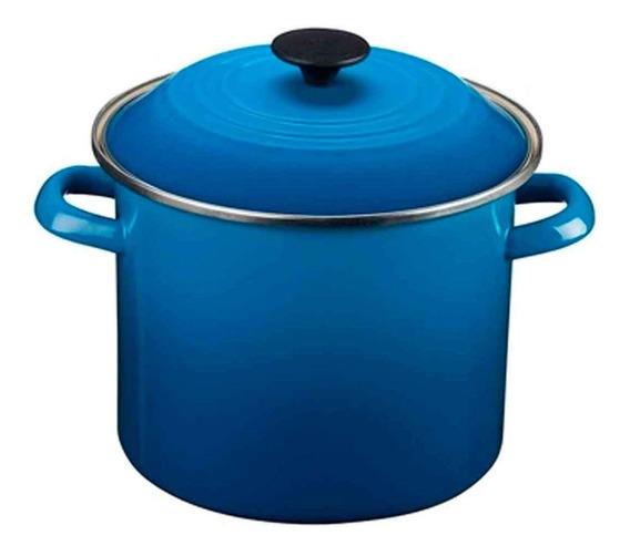 Caldeirão Stock Pot 7,3 Litros Azul Marseille Le Creuset Le