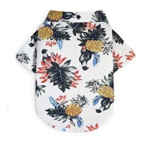 Camisa Perro Hawaino Piña Super Cool Tallas