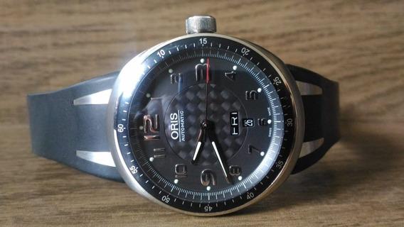 Relógio Oris Tt3 Titanium Day Date Automático Safira