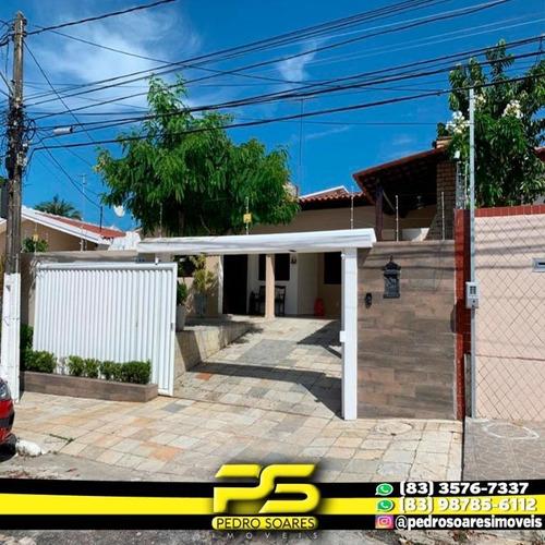 Casa Com 3 Dormitórios À Venda, 360 M² Por R$ 650.000,00 - Bairro Dos Ipês - João Pessoa/pb - Ca0552