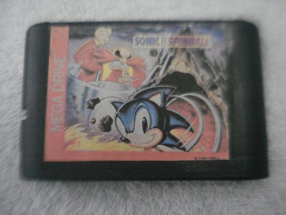 Jogo De Mega Drive Sonic Spinball