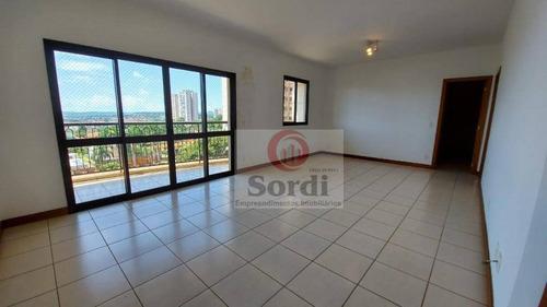 Apartamento Para Alugar, 138 M² Por R$ 3.000,00/mês - Jardim São Luiz - Ribeirão Preto/sp - Ap3464