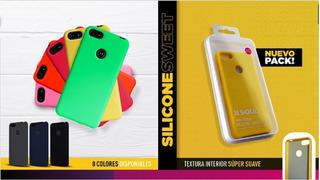 Lote De 20 Fundas Silicone Sweet Case Samsung Moto X Mayor