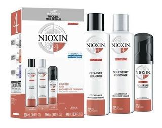 Nioxin 4 Sh 300 Ml+ Cd 300 Ml+tratamento 100 Ml