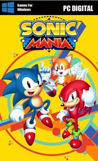 Sonic Mania Pc Digital Leer