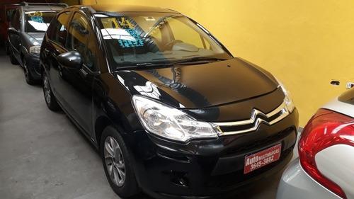 Citroën C3 Origine 1.5 Flex Completo Cor Preto Ano 2014