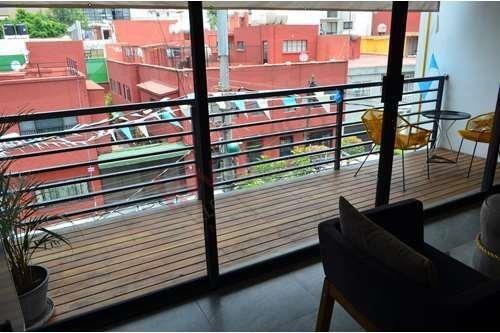Departamento En Venta Con Roof Garden, Col. Narvarte