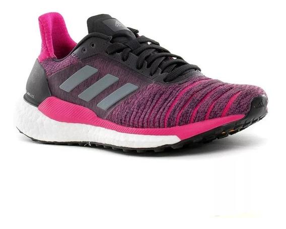 Tênis adidas Feminino Solar Glide W Rosa