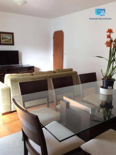 Imagem 1 de 12 de Apartamento À Venda - Praia Das Pitangueiras - Guarujá - Ap0305