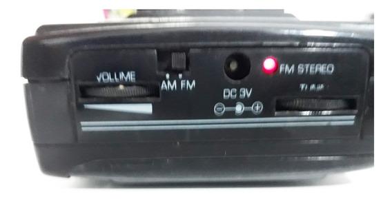 Walkman Frahm Mp12 C/am/fm (funciona Parcial) + K7