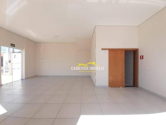 Salão Para Alugar, 58 M² Por R$ 2.000,00/mês - Vila Mollon Iv - Santa Bárbara D
