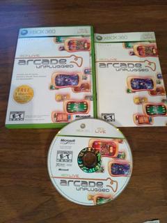 Xbox Arcade Unplugged Original Para Xbox 360