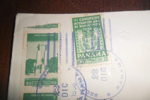 Panama Filatelia Sello Postal Estampilla Estampillas Correo