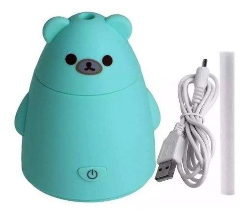Humidificador Aromatizador De Aire Oso Panda Usb