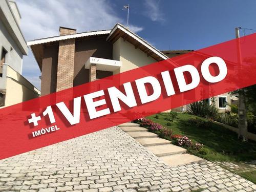 Casa Charmosa À Venda No Condomínio Terras De Atibaia - Atibaia - Ca0112