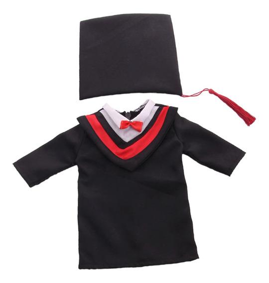 Juego De Sombrero Y Vestido De Graduación En Miniatura