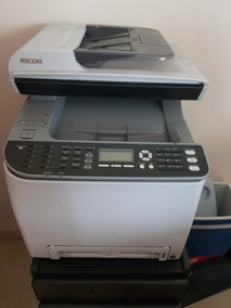 Multifuncional Laser Colorida Ricoh Aficio Sp C242sf