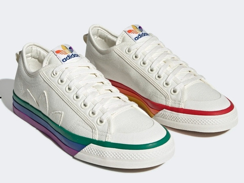 Zapatillas adidas Original's Nizza Pride 42.5 9 1/2 Uk