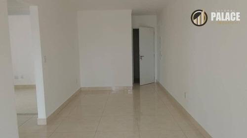 Apartamento Com 2 Dormitórios À Venda, 90 M² Por R$ 554.100,00 - Vila Guilhermina - Praia Grande/sp - Ap2709