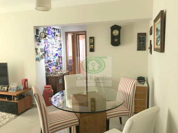 Apartamento Em Santos, Alto Padrão, 2 Suítes, Prédio Com Lazer, Gonzaga! - Ap5446