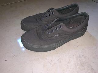 Zapatos Tennis Vans Talla 34.5 Casi Nuevos