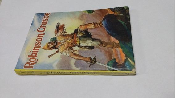 Livro Robinson Crusoe Daniel Defoe Edit Minerva Fret R$ 15,0